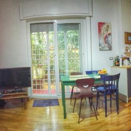 náš byt v Římě