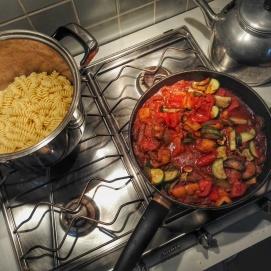 první večeře v Římě