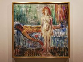 Edvard Munch, The Death of Marat, 1907