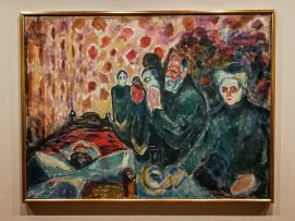 Edvard Munch, Death Struggle, 1915