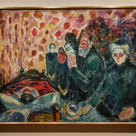 Edvard Munch, Death Struggle, 1915