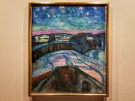 Edvard Munch,Starry Night, 1922