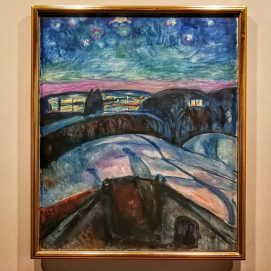 Edvard Munch,Starry Night, 1922