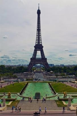 Champ de Mars, Eiffel Tower